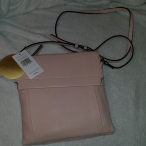 NWT Vince Camuto leather crossbody cameo rose